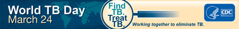 March 24 is World Tuberculosis Day.